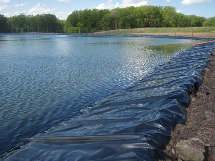Itl build a liner containment liners pond liners for Tarpaulin fish pond
